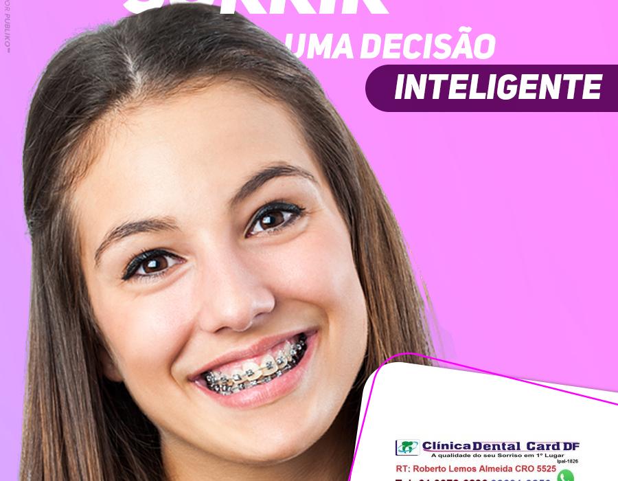 Ortodontia convencional elástico corrente